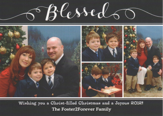 How to Make Kids Christmas Photos Less Horrifying - Foster2Forever