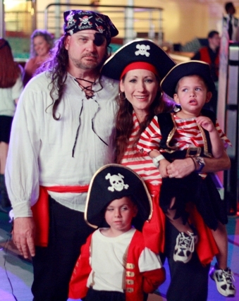 Our Disney Cruise Pirate Night Costumes
