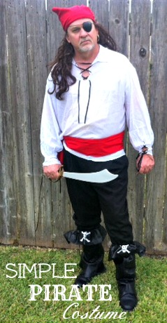 Our disney cruise pirate night costumes foster2forever diy homemade pirate costume men2 solutioingenieria