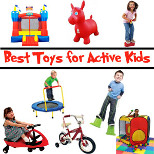 Top Ten Toys for the Active Child Boy or with ADHD SPD Hyperactivity