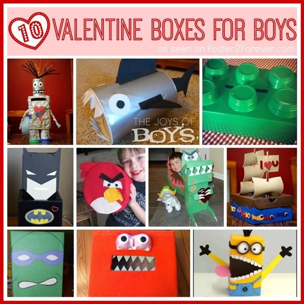 10 Great Valentine Box Ideas For Boys Foster2forever