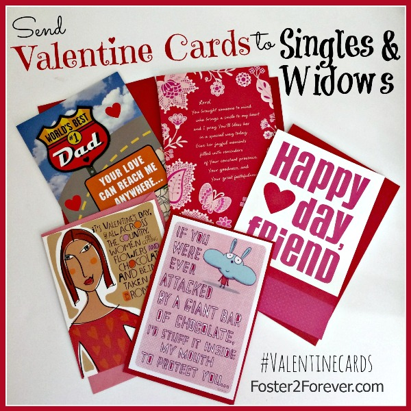 Send Valentine Cards to Singles and Widows – Valentines Cards for Singles