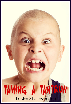 Great tips for when my child is throwing a temper tantrum!