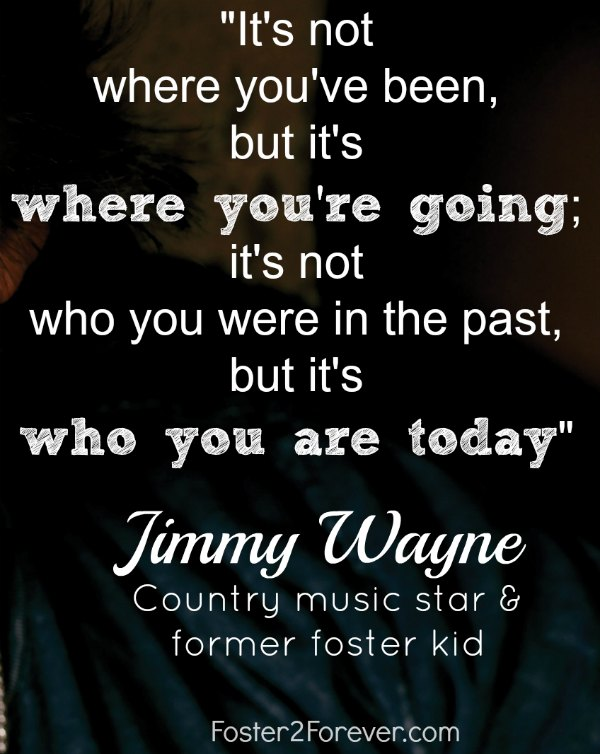 It's not where youve been! Great inspirational quote on letting go of the past by Jimmy Wayne.