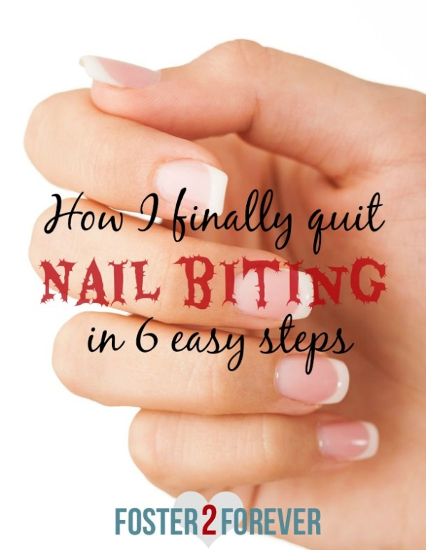 Yes I can break my bad habit of biting my nails. Check out these remedies.
