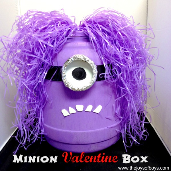 minion valentine box idea boys - Valentine Boxes For Girls