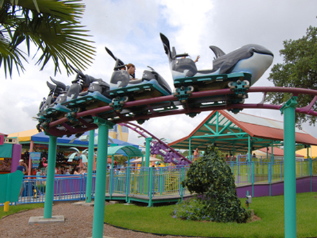 SeaWorld-rides-San-Antonio-kids-roller-coaster