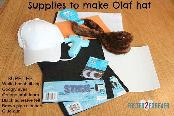 Check out this easy DIY Olaf costume for RunDisney