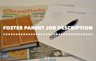 The Job Description of a Foster Parent
